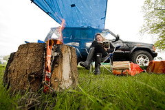 Camping_St Ives Farm_37 (jjay69) Tags: uk camping roof camp england holiday car rural fire sussex countryside break jeep offroad 4x4 diesel outdoor weekend flames tent east campfire burn cover wellingtonboots tight canopy stretched protection eastsussex campsite allterrain basha burningwood taught hartfield orvis 25516 25td stivesfarm generalgrabber junglebasha gettyvacation2010