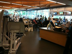 Fitness club at Marshall Community Center