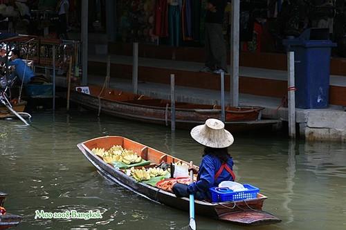 Dammnoen Saduak Floating Market-3