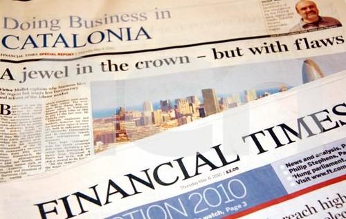 """Financial Times: """"Es una estupidez el proceso soberanista catal"""