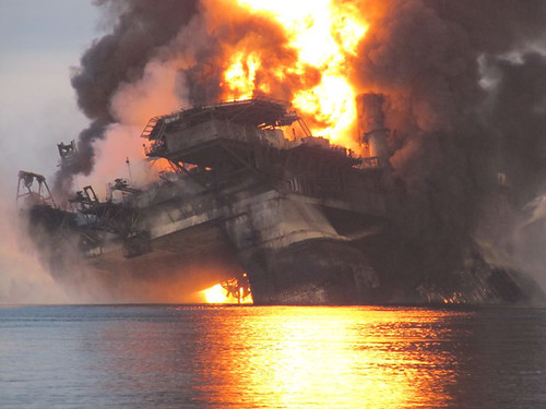Deepwater Horizon Sinks