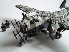 Heinkel He-219 Uhu (8) (Mad physicist) Tags: germany lego aircraft wwii heinkel ww2 nightfighter