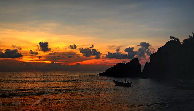 Sunrise over Terengganu