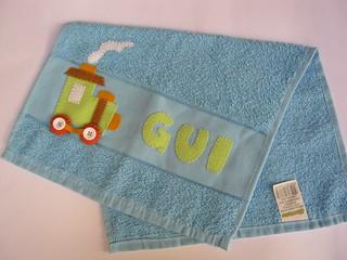 Mais uma toalhinha de bebê!