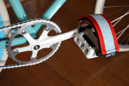 R.E.Load lockdown footstrap and Odyssey Twisted Pedal