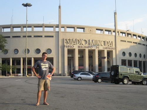 Swiss and Sao Paulo municipal football stadium