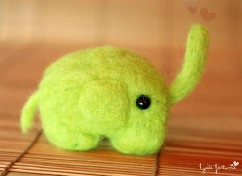 El elefante verde por ti.
