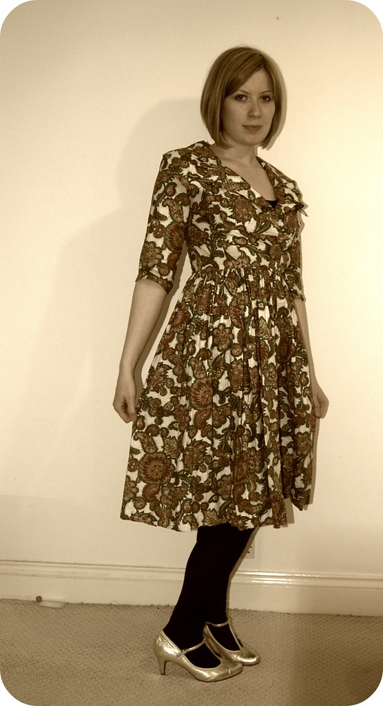 50s Mad Men dress!