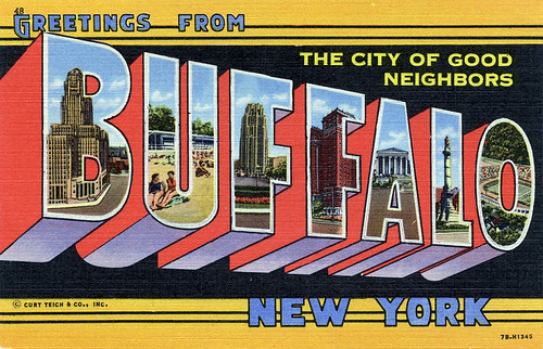 Greetings from buffalo new york the city of good neighbors large greetings from buffalo new york the city of good neighbors large letter postcard m4hsunfo