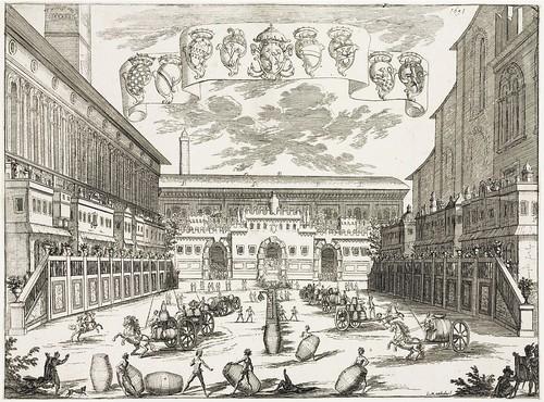 Festa de Vino a Bologna. 1691 (Christie's)