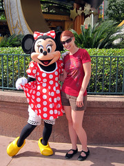 tammy with minnie mouse