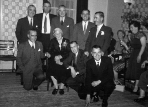 Silver Wedding 1958