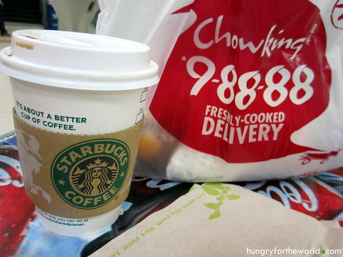 free starbucks and chowking
