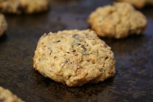 Chocolate chip cardamom cookies