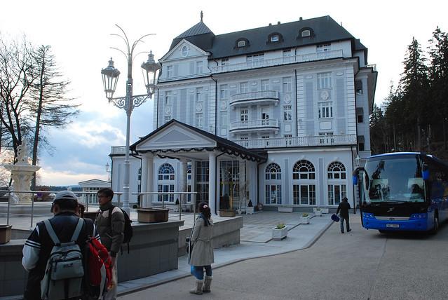 瑪麗安司凱 Marianske Lazne:Esplanade(百年豪宅五星飯店)