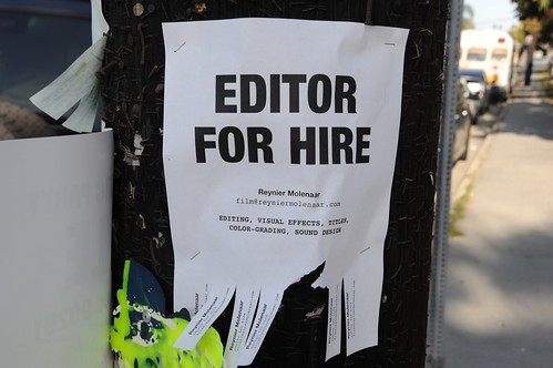 Editor for Hire