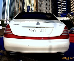 Mercedes Maybach (Infernal elf) Tags: summer white holiday ass car marina that mercedes benz dubai skyscrapers sweet united pipes wide double emirates arab german dual cath powerful luxury germancar maybach 625 wihite exspensive worldcars luxjurious