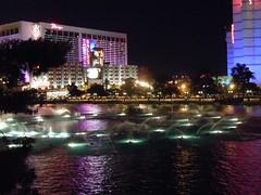 Fountains At Night - Bellagio