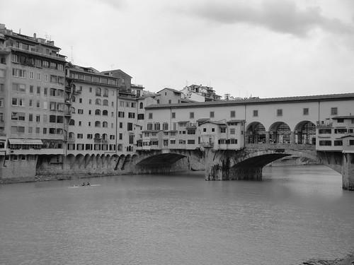 Firenze - Canottieri e Ponte Vecchio