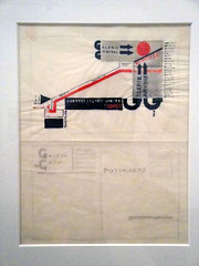El Lissitzky sketch postcard (typojo) Tags: vanabbemuseum eindhoven cyrillic constructivism ellissitzky moderntypography jodebaerdemaeker typojo