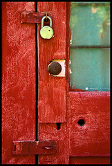 Portal Rojo (Junkstock) Tags: door wood old windows red newmexico color window closeup rural photography photo paint doors photos decay rustic photographs photograph weathered aged peelingpaint distressed patina mogollon ruralexploration oldandbeautiful agedwindow