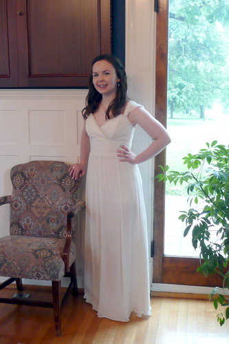 Rachel's 8th grade graduation