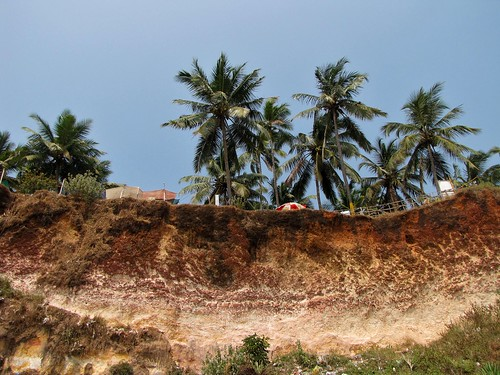 Varkala Beach Cliffs