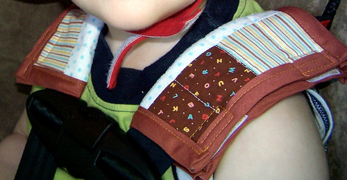 Patchwork Car Seat Belt Cover