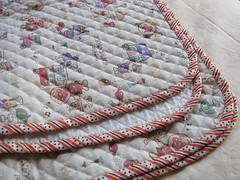 Anpan Man pre-quilted fabric