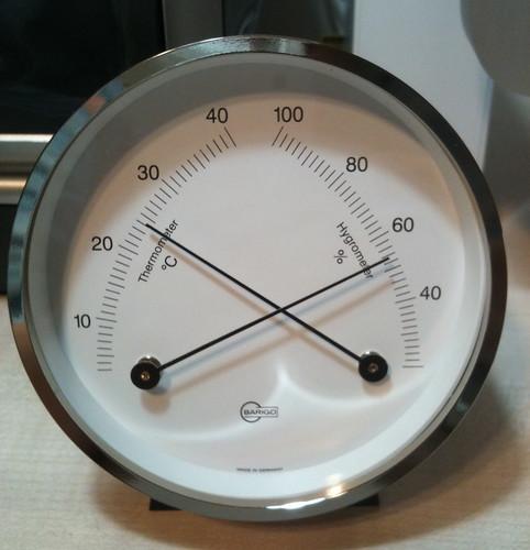 BARIGO小型温湿度計
