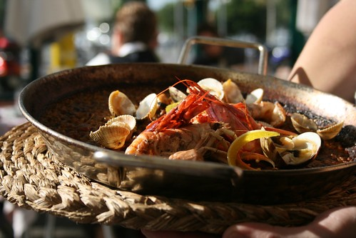 Paella at Suquet de L'almirall
