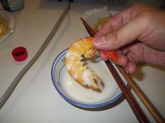 一隻20元的明蝦