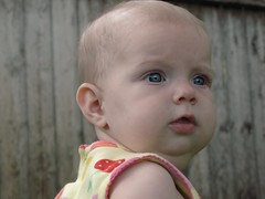 5-29-10 baby in the garden