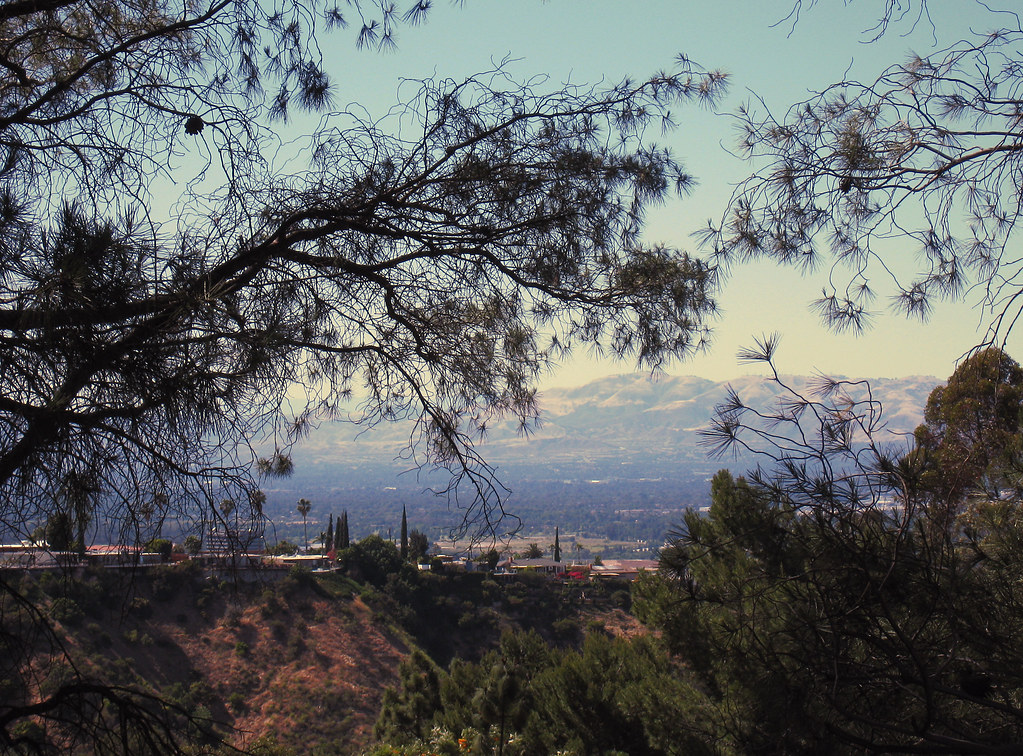 San Fernando Valley View from Mulholland-2-2