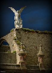 El ngel exterminador de Joseph Llimona (Ame70) Tags: espaa architecture angel death spain cementerio cantabria cementery comillas mygearandmepremium