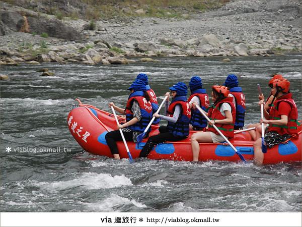 【花蓮旅遊】暑假玩花蓮最消暑的玩法~秀姑巒溪泛舟啦!8