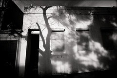 shadows (Kenneth McNeil) Tags: street winter light shadow urban blackandwhite bw white black building architecture contrast lights nikon shadows ghost sydney australia eerie urbanart nsw australien moment nikkor ghostly f4 1224 d90 1224f4 nikon1224 nikond90 kennethmcneil