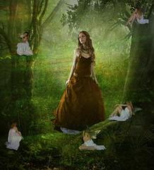 Enchanted Forest (~Femmy~) Tags: textures challenge artlife awardtree artistictreasurechest trolledproud creativeoutbursts arttex flickrthroughyoureyes ~faestock~