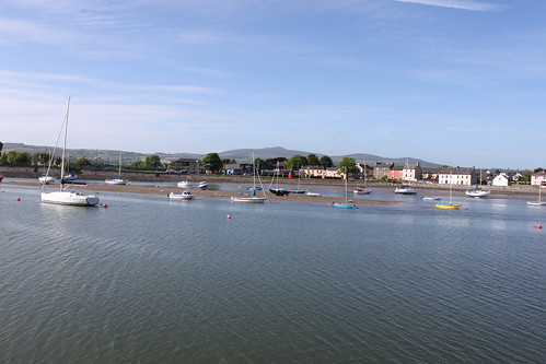 Dungarvan Harbour in the sunshine
