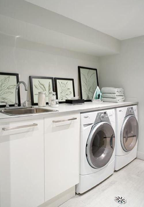 bright-basement-laundry-room-design