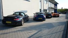 Open House at our Nrburgring office (Ohlinsracing) Tags: ferrari nrburgring ohlins hlins