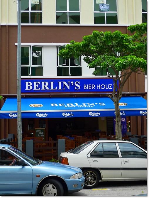 Front of Berlin Bier Houz