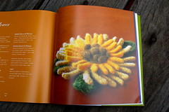 "page from Nicky Epstein's ""Knitted Flowers"""
