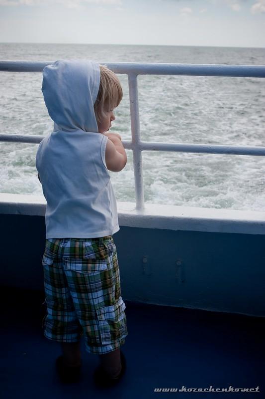 на корабле