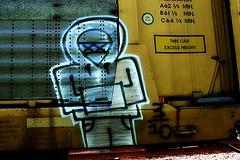 ? (mightyquinninwky) Tags: railroad graffiti character tag graf railway tags tagged railcar graff graphiti carcarrier trainart autorack holyroller rollingstock paintedtrain spraypaintart movingart taggedtrain railroadart paintedrailcar taggedrailcar autorax 11223344556677 carfireonflickr charactersformyspacestation