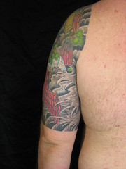 Final tattoo photos, left sleeve