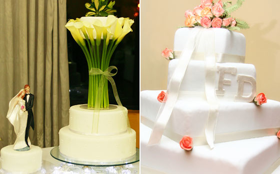 Tortas boda blanco