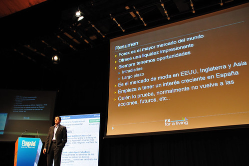 David Aranzabal en el Financial Congress
