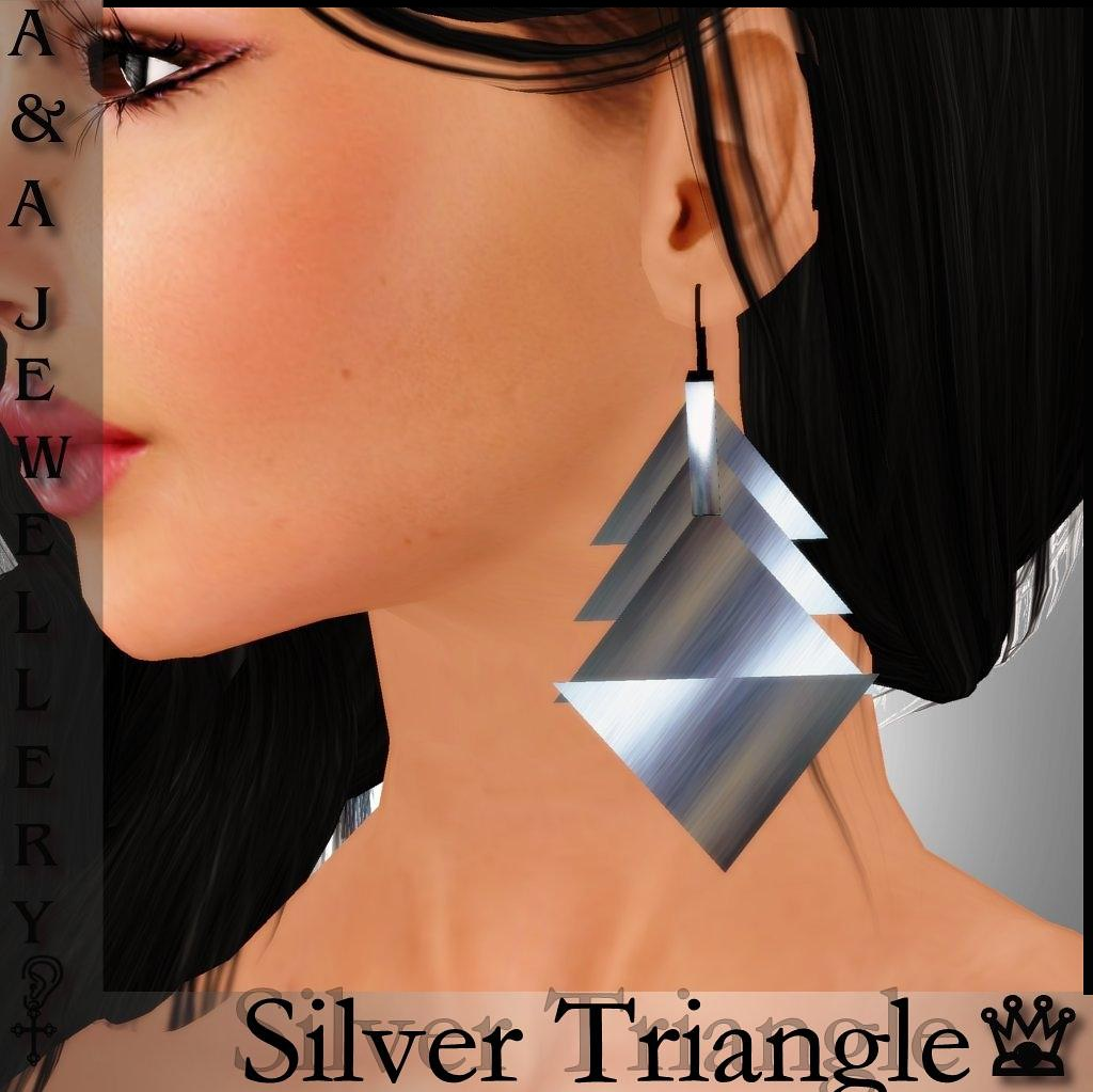 A&A Jewellery Silver Triangle