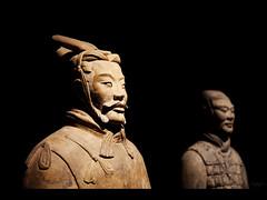 I'm 2200 years old (Kaj Bjurman) Tags: china man standing army eos terracotta xian 5d kaj cs4 bjurman